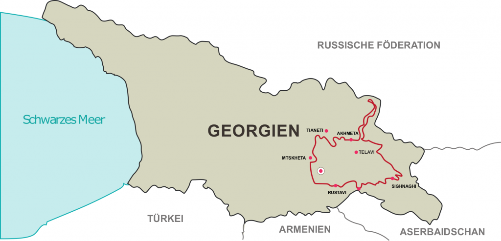 7 Tage Enduro Tour in Georgien
